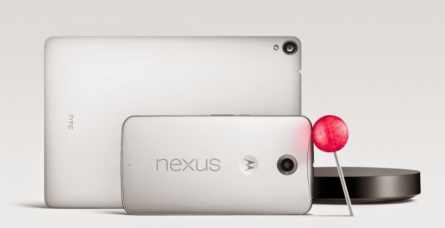 Nexus-Family 6 9 player android lollipop