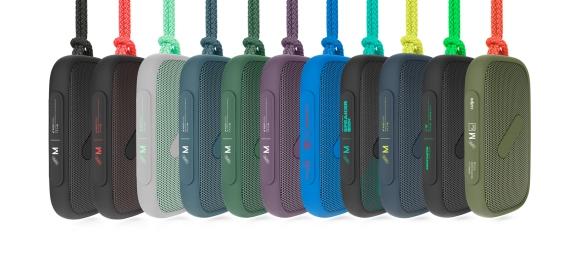 Super-M colours NudeAudio bluetooth speaker